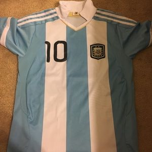Argentina Messi Soccer Jersey